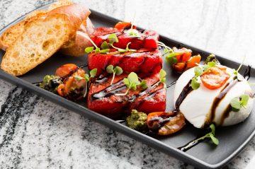 Burrata plate