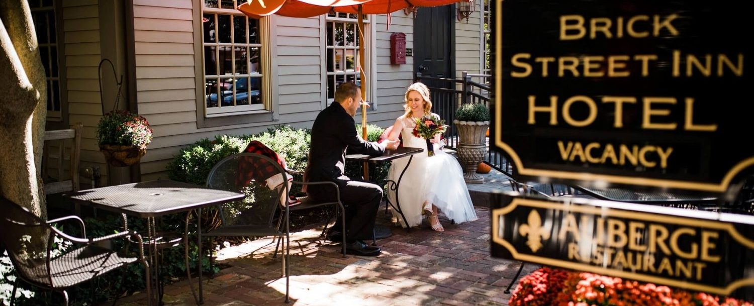Brick Street Inn Wedding