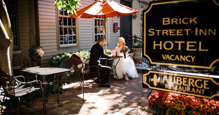 Brick Street Inn Wedding