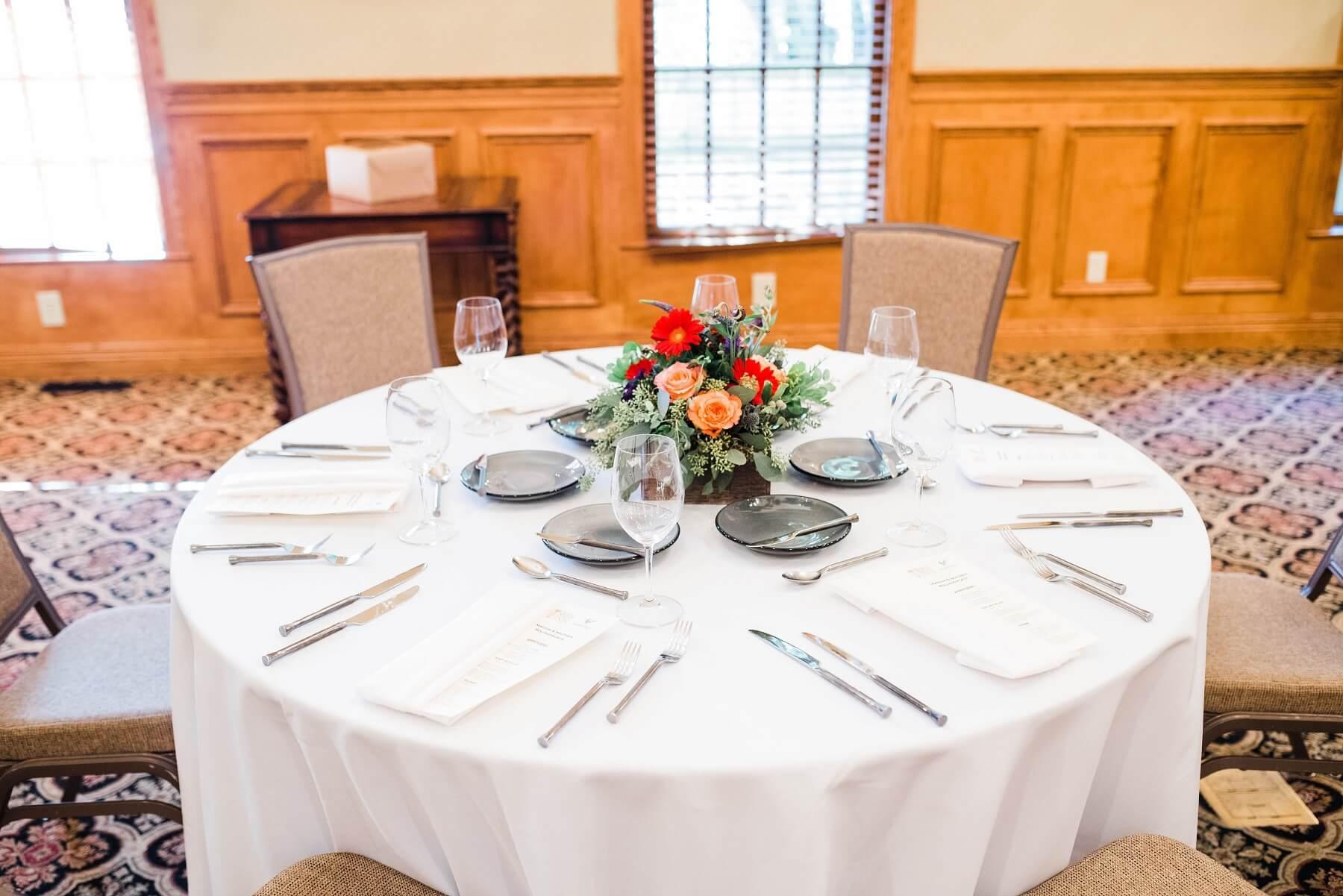 Brick Street Inn Wedding Table