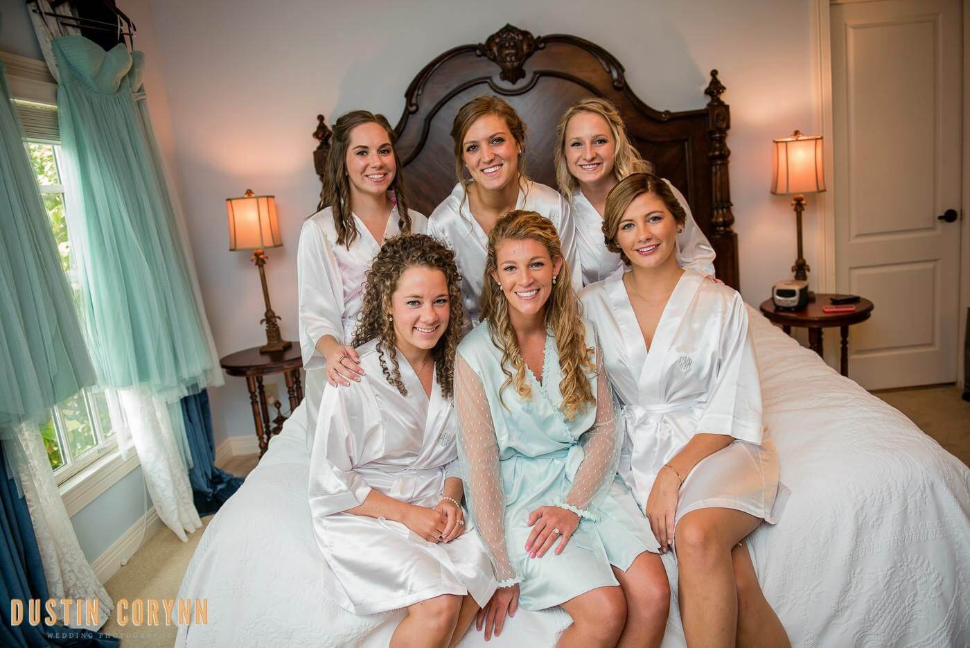 Bridal Party at the Brick Street Inn