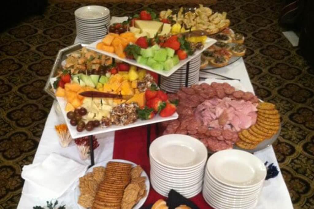 Zionsville Indiana Banquet Food