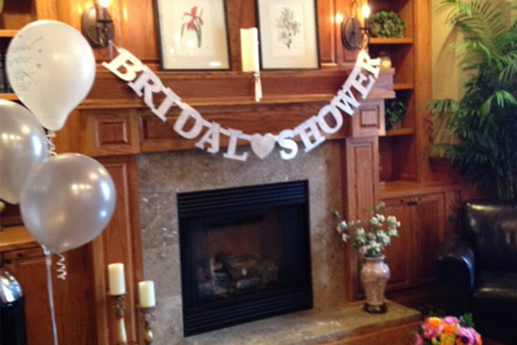 Zionsville Indiana Bridal Shower